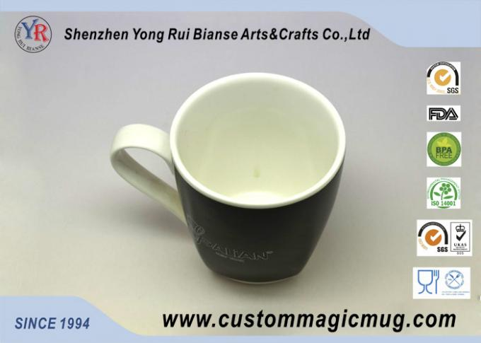 OEM Thermochromic Heat Sensitive Custom Magic Mug for Restaurant / Home