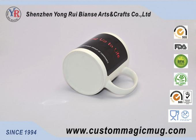 Personlized Heat Activated Coffee Mug Hot Cold Colour Change