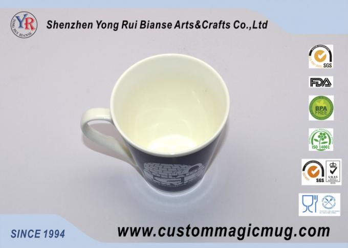 12oz V Shaped Colour Changing Cup Starbucks Ceramic Coffee Mug