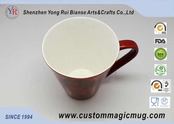 Amazing Color Changing V Shape Mug , Personalised Childrens 3d Sublimation Mug
