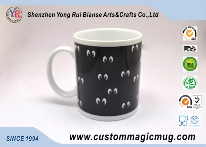 Personalized Eco Friendly Mugs 11 oz White Ceramic For Coffee