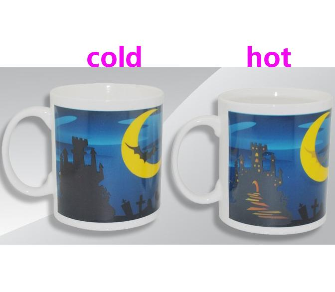 Customized Color Changing Coffee Mug Promotional Gifts Items