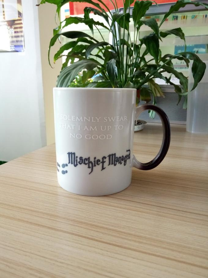 Best Gift Harry Potter Eco Friendly Ceramic Mugs Heat Sensitive