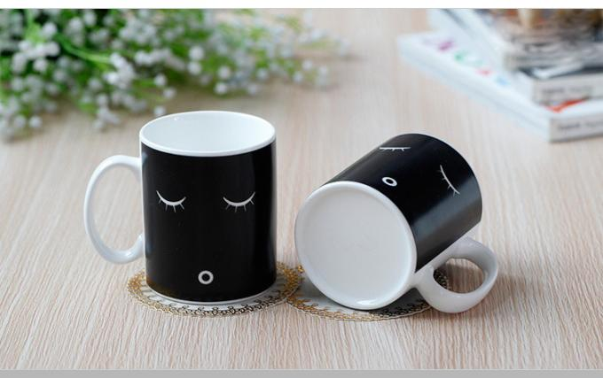 Stock Morning Heat Sensitive Color Changing Mugs For Girls And Boys