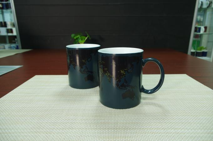 11oz Personalized Ceramic Coffee Mugs Day And Night Magic Type