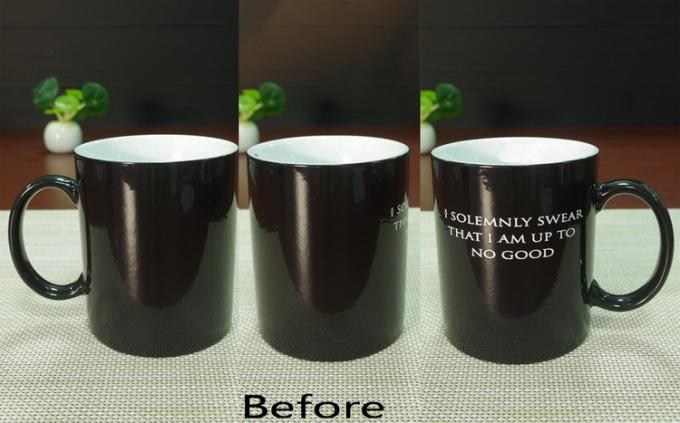 Harry Potter Heat Sensitive Cup Custom Coffee Cup That Changes Color