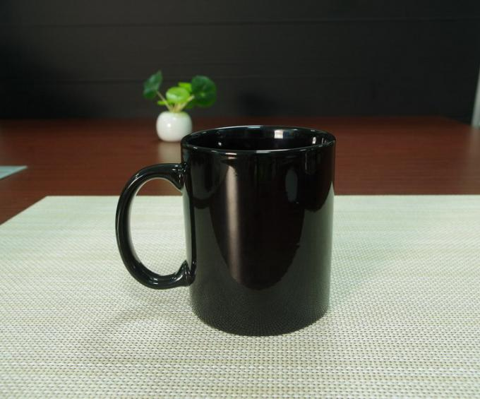 Promotional gift heat sensitive color changing coffee mugs stocked