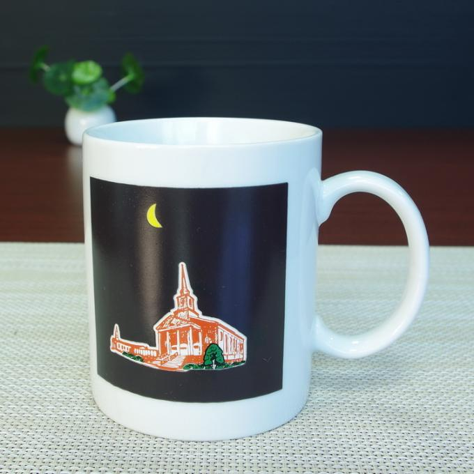 Gifts Ceramic Heat Reactive Magic Color Changing Mug OEM Accepted