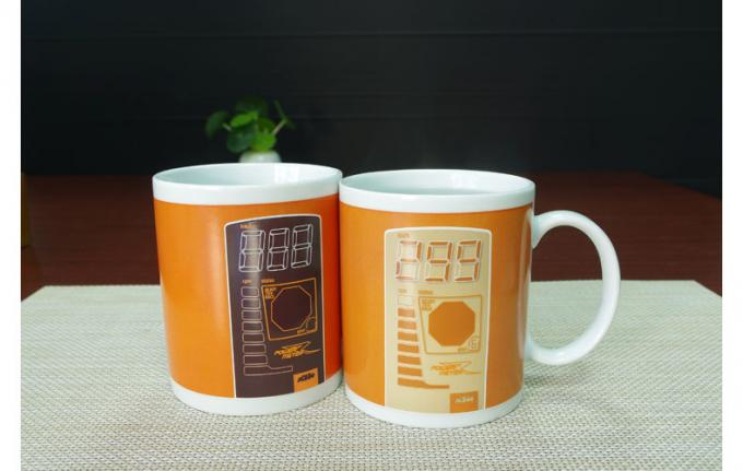 Personalised Heat Sensitive Mug For Office Room / Colour Changing Coffee Mugs
