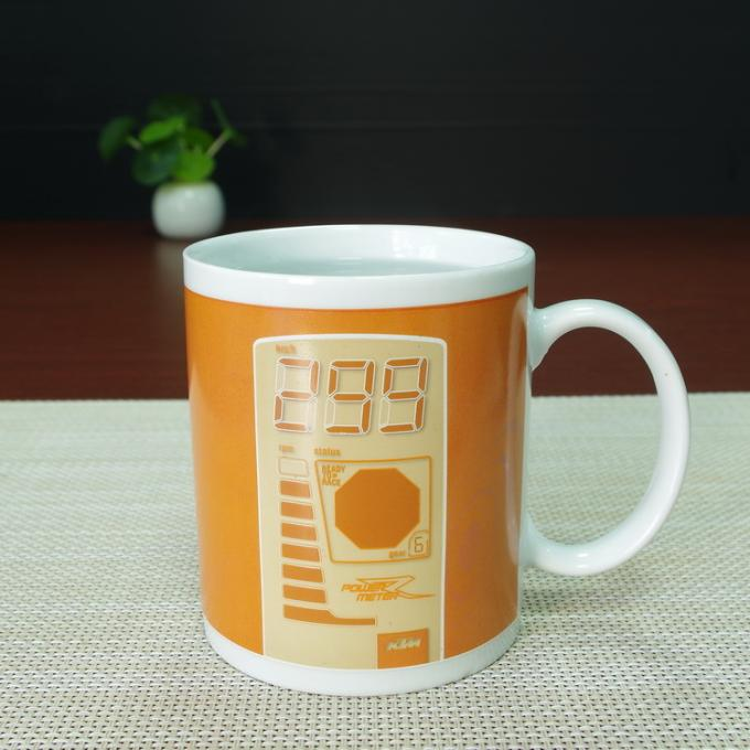 Personalized Color changing square heat sensitive mug custom Eco - friendly