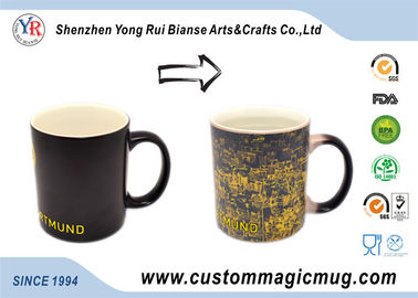 China 300ml Stoneware Custom Magic Mug Advertising Heat resistant supplier