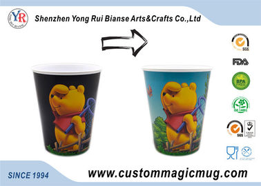 China 400ml Plastic Personalized Kids Mugs Eco-Friendly Cartoon Character supplier