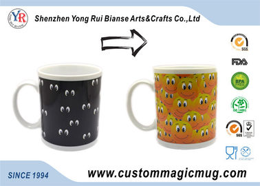China Personalized Eco Friendly Mugs 11 oz White Ceramic For Coffee supplier