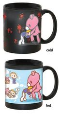 China Corporate Gifts Heat Sensitive Color Changing Coffee Mug Eco - Friendly supplier