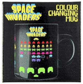 China Space Invaders Temperature Color Changing Cups Professional Stable supplier