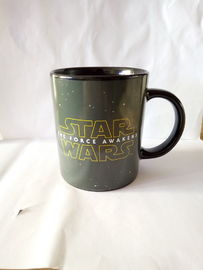 China Fashionable Gift Star War Printing Eco Friendly Mugs Black ODM supplier