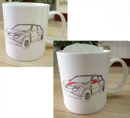 China Water Transfer Printing Eco Friendly Mugs Promotional Gift SGS LFGB supplier