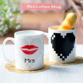 China Mrs Heat Sensitive Color Changing Mugs Personalised Colour Changing Mugs supplier