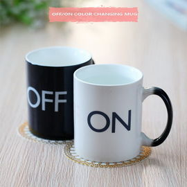 China Off / On Magic Heat Activated Coffee Mug Coffee Cup Changes With Heat supplier
