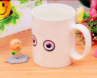 China Monday Cup Heat Sensitive Color Changing Mugs Custom For Kids supplier