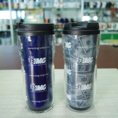 China Printed 16oz  heat sensitive color changing mugs disposable plastic cup supplier