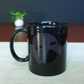China Business Gift Use Magic Color Changing Coffee Mug , Changing Colour Ceramic Mug supplier