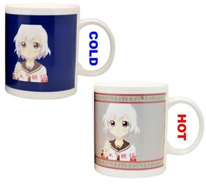 China Ceramic Material Color Changing Coffee Mug With CE/EU SGS Certification supplier