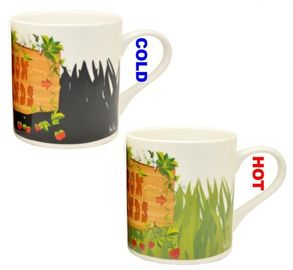 China Giveaways Color Changing Coffee Mug For Business Idea Complimentary supplier