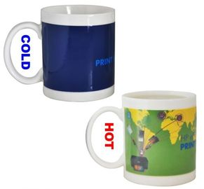China FDA Approval 11oz Changing Heat Sensitive Color Changing Photo Mug supplier