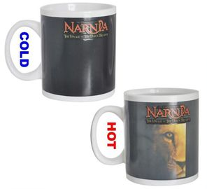 China Temperature Change Color Changing Coffee Mug , Heating Color Changing Mug supplier