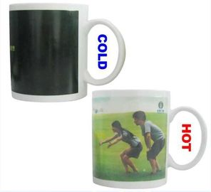China 300ML Capacity Magic Coffee Mug Changes With Heat Temperature supplier