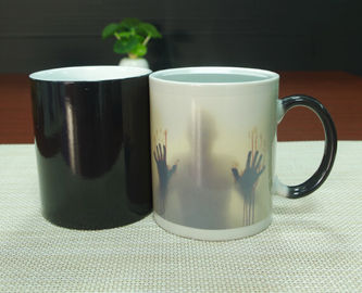China Customized Color Changing Coffee Mugs / Temperature Changing Mugs supplier