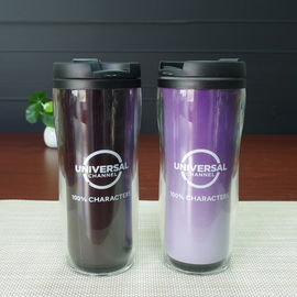 China Promotional Insulated Color Change Mug Double Wall Acrylic Tumbler With Lid supplier