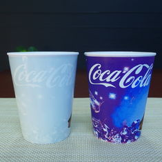 China 420ml Pp Promotion Single Wall Plastic Cups AB Grade For Cola supplier