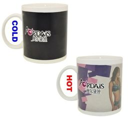 China Top grade commercial advertising promotional gift magic coffee mug supplier