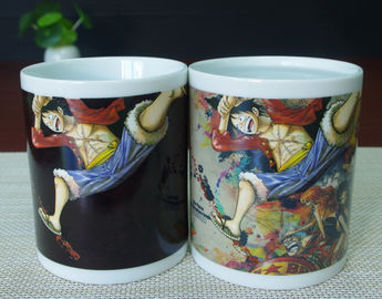 China Customized Color Changing Magic Mug , Heat Changing Coffee Mug that change color supplier
