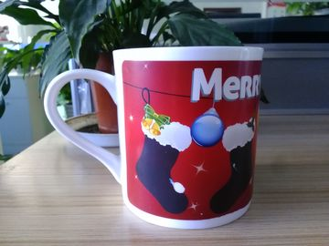 China Stoneware Ceramic Type personalised heat sensitive mug Eco - Friendly Feature supplier