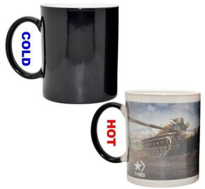 China Custom gift stoneware coffee mug that changes color with heat supplier