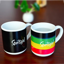 China Customized Thermel temperature sensitive coffee mugs Color Changing supplier