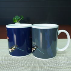 China Promotional Gift Magic color changing photo mug / advanced funny mugs supplier