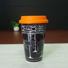 China Starbucks tumbler magic porcelain Eco Friendly Mugs with color changing supplier
