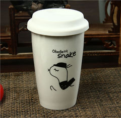 China 16 Oz reusable ECO sublimation starbucks coffee travel mugs heat sensitive supplier