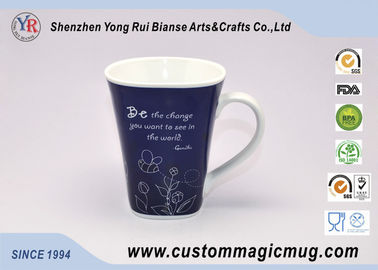 China Thermochromic Coffee Heat Sensitive Magic Mug Changing Color With Heat supplier