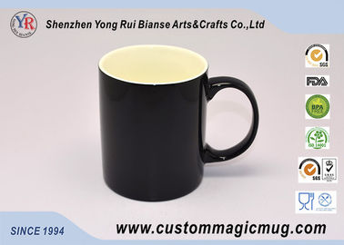 China Thermochromic Temperature Color Changing Cups , 11oz 325ml Heat Reactive Mugs supplier