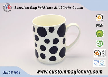 China Porcelain Pottery Heat Changing Photo Mugs 11oz 300ml Eco Friendly supplier