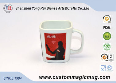 China Personalized Heat Sensitive Color Changing Mugs , Magic Coffee Mug With Photo supplier