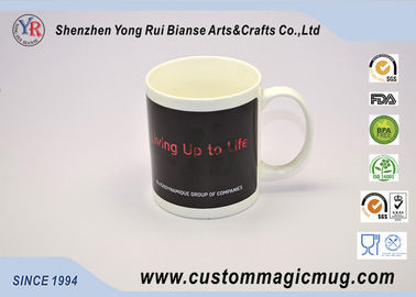 China Personlized Heat Activated Coffee Mug Hot Cold Colour Change supplier
