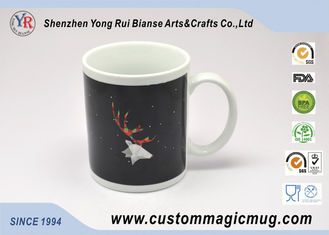 China Thermochromic Heat Sensitive Color Changing Ceramic Mug With Custom Printing supplier