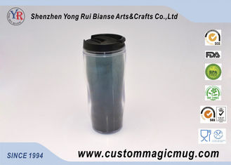 China Outdoor Camping Takeaway Double Wall Plastic Cup Home Appliance Mug supplier