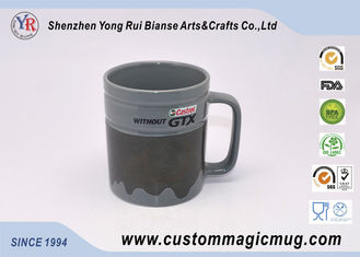 China Coffee Colour Change Custom Magic Mug Personlized Heat Resistant supplier